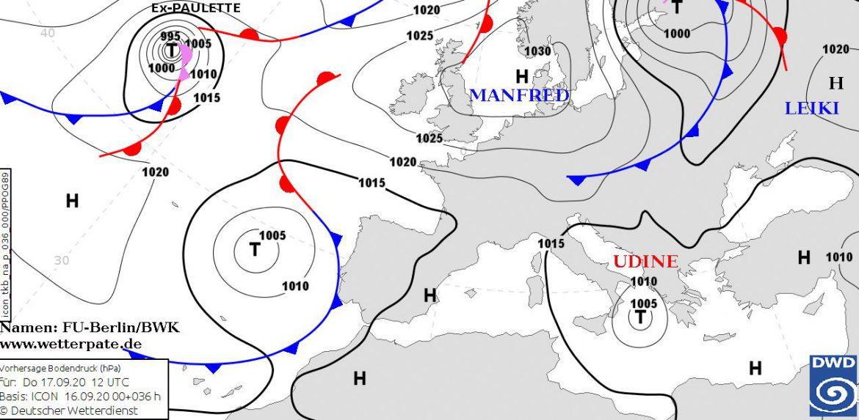 ciclone mediterraneo UDINE