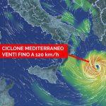 ciclone mediterraneo allerta meteo